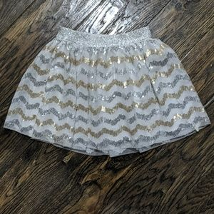 Cat and Jack Sequin Skirt